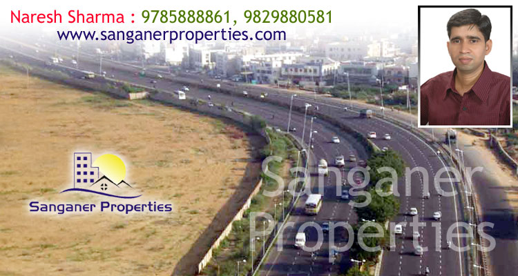 Commercial Land For Sale Near Chordia Petrol Pump In Sanganer