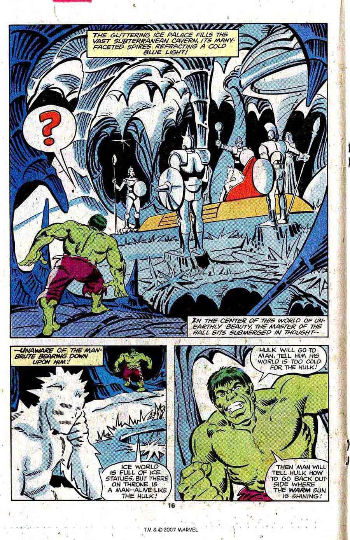 Incredible Hulk v2 #249 marvel comic book page art by Steve Ditko