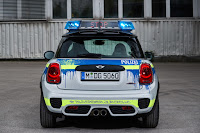 Mini John Cooper Works 3-Door Hatch Polizei (2018) Rear