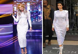 Actresses Arabs clone Kim Kardashian