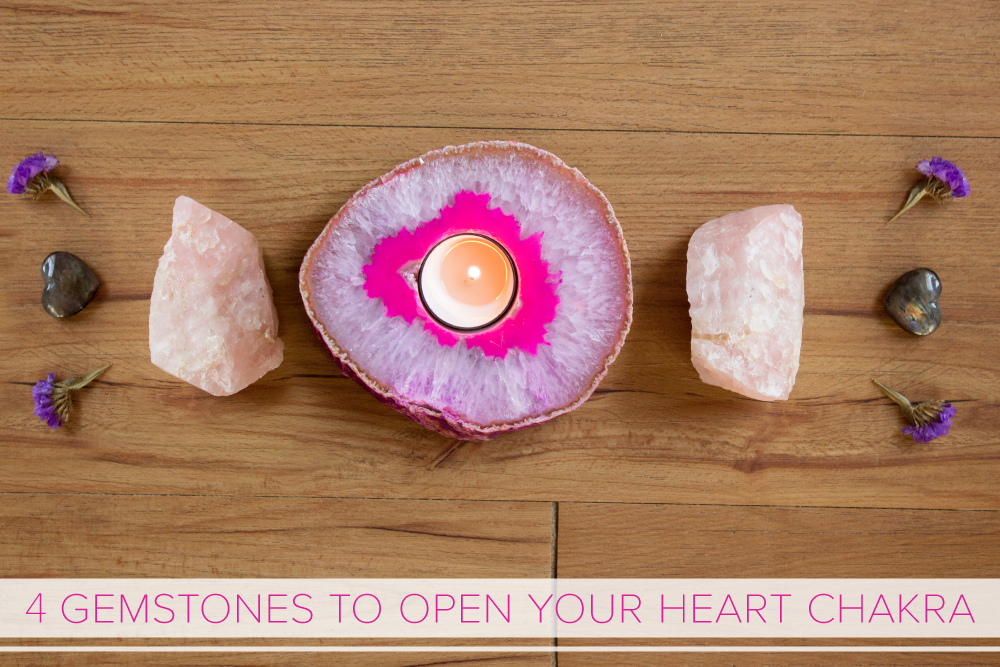 4 Gemstones to Open Your Heart Chakra - The Wanderful Soul