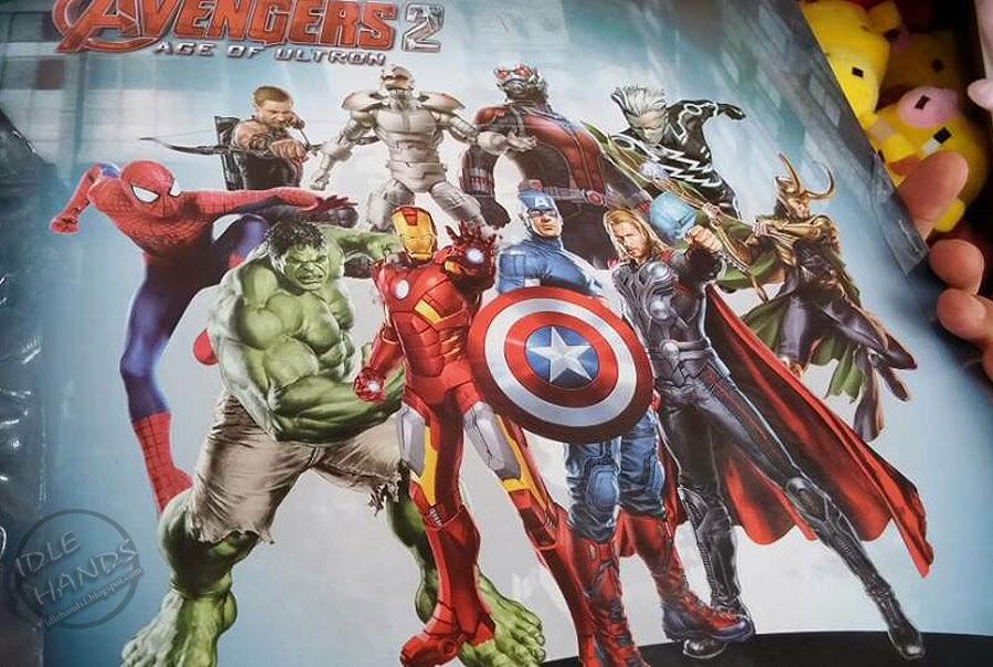 Idle Hands: Those Amazing Avengers: Age of Ultron Bootleg