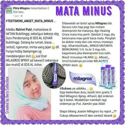 √ Harga Milagros di Kalimantan Selatan ⭐ ✅ WhatsApp 0813 2757 0786
