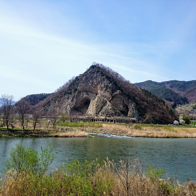 上田 千曲川 岩鼻