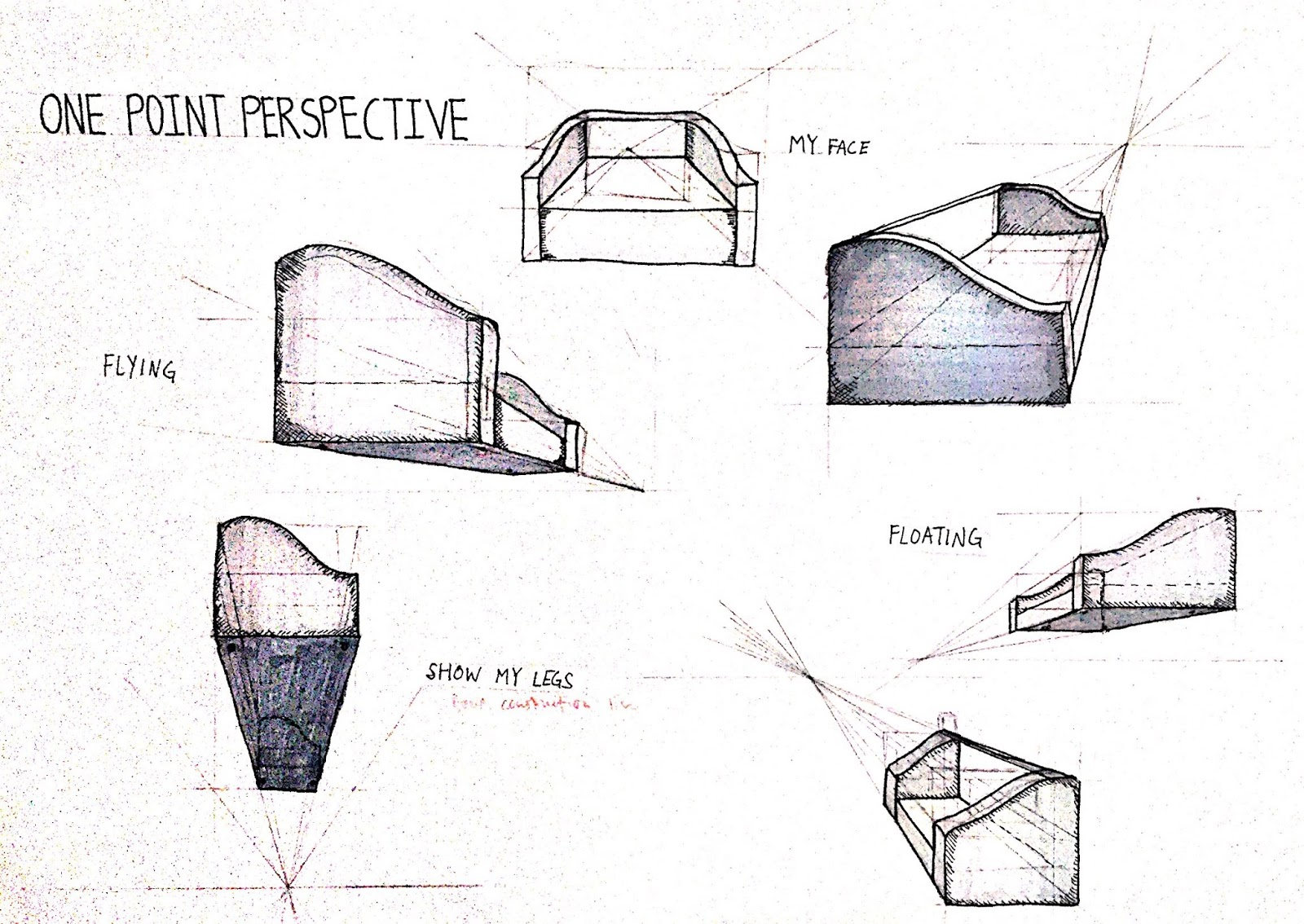 Patrickdesignwork 3d Object Furniture Projection