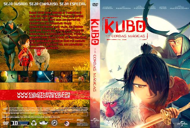Capa DVD Kubo E As Cordas Mágicas [Exclusiva]