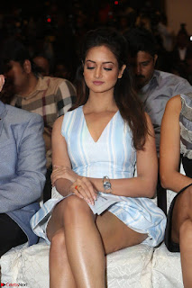 Shanvi Looks super cute in Small Mini Dress at IIFA Utsavam Awards press meet 27th March 2017 90.JPG