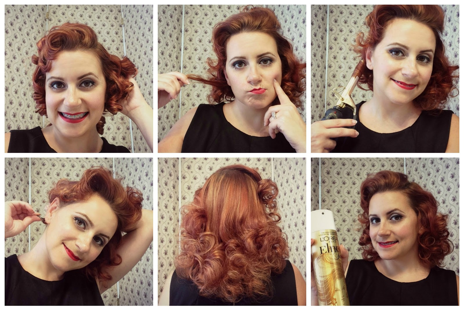 how to use pin curls