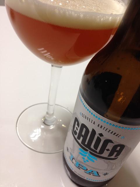 Cerveza artesanal Califa IPA