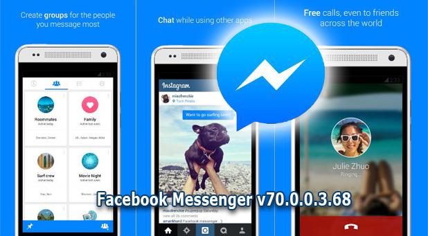 Download Gratis Facebook Messenger v70.0.0.3.68 Apk (All Version )