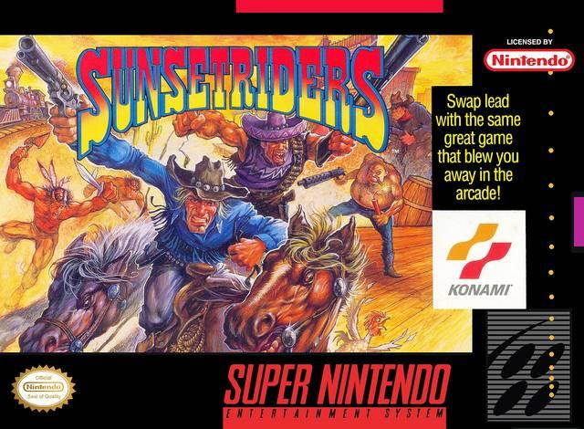 Sunset Riders - Super Nintendo (1993)