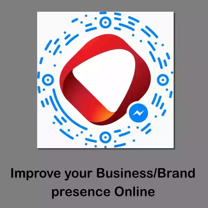 Use Facebook Messenger Code: Improve Brand/Business presence