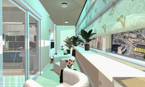 Design interior living casa