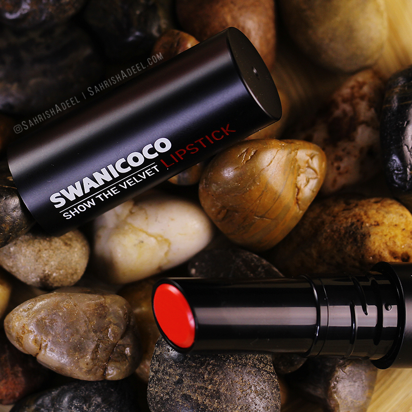 Show The Velvet Lipstick Limited Ed in Juliet Red by Swanicoco - Review, Lip Swatches & Try On!