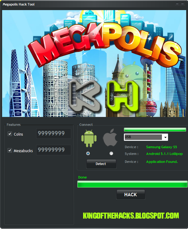 download megapolis hack tool for android