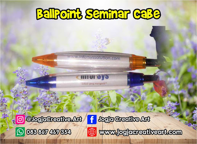 Paket Seminar Kit Murah Ballpoint Cabe