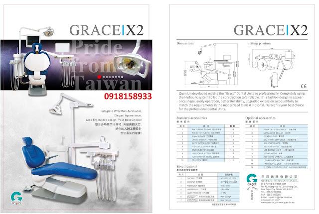 dai ly grace x1 dai ly ghe nha khoa Dai Loan chinh hang gia si re nhat 0918158933 catalogue grace x2