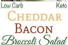 #TOPRECIPES Bacon Cheddar Broccoli Salad