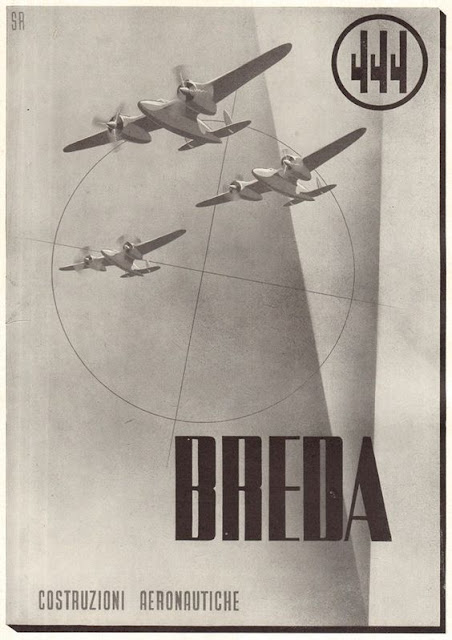 Breda Fascist airplane ads worldwartwo.filminspector.com