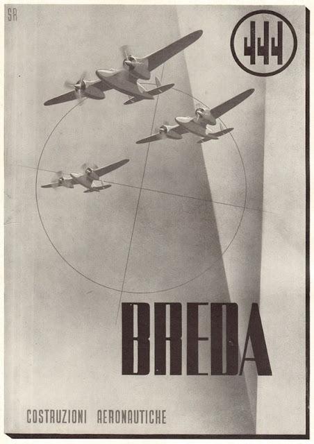 Breda Fascist airplane ads worldwartwo.filminspector.com