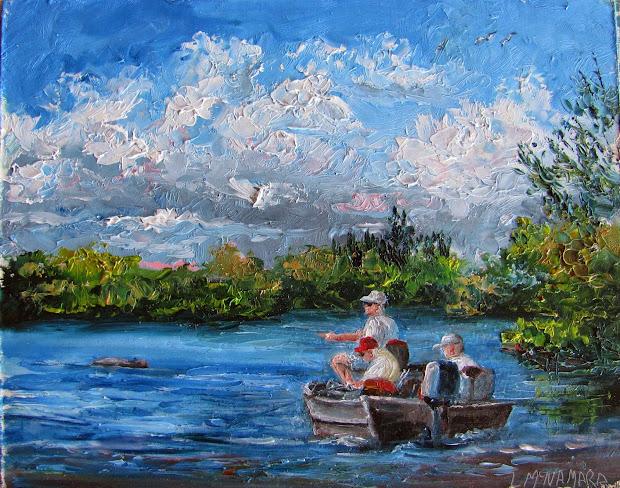 Lori' Stormy Art And Daily Paintings 1592 Manatee