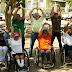 Efectúan rodada a favor de la inclusión de personas con discapacidad
