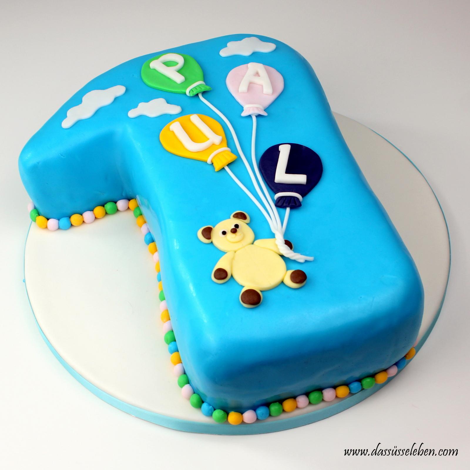 Rezept Torte Zum 1 Geburtstag Das Susse Leben