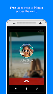 telepon Gratis Via Facebook messenger