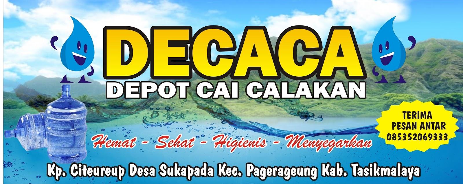 Download Contoh Spanduk Depot Isi Ulang Air Minum Format Cdr