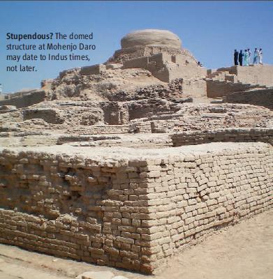 Image result for mohenjodaro stupa andrew lawler
