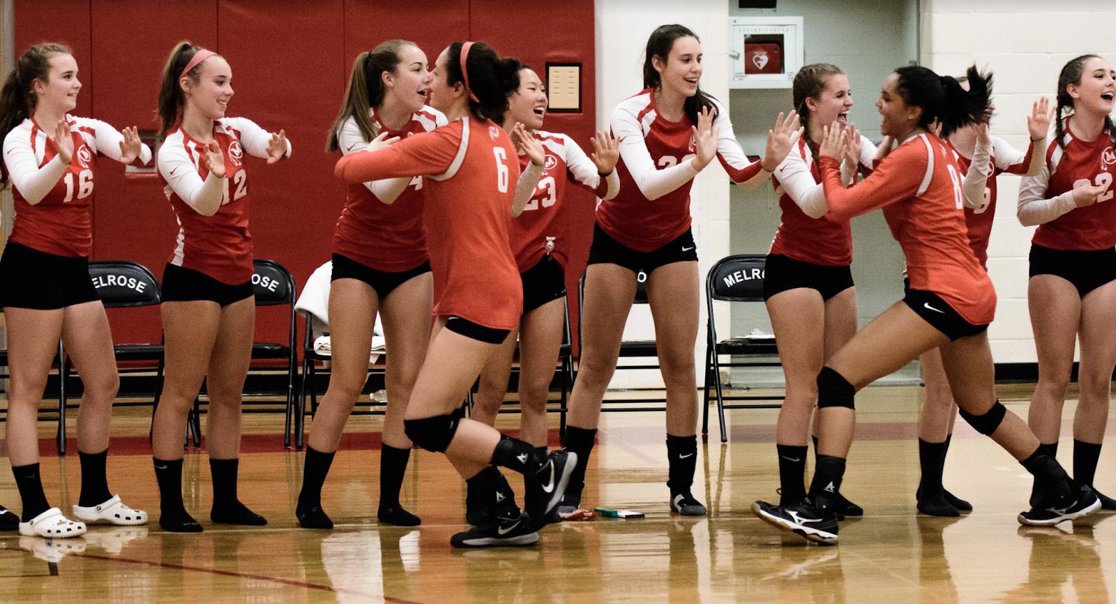 Melrose Lady Raiders Volleyball: Snaps Melrose - NDA