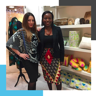 Roberta Lee (Founder of Roberta Style Lee) Stylist at Sapellé Showrooms in West London (Portobello Road Market)