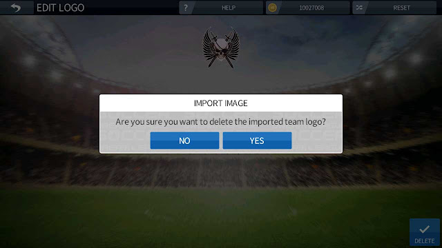 tutorial mengganti logo dream league soccer