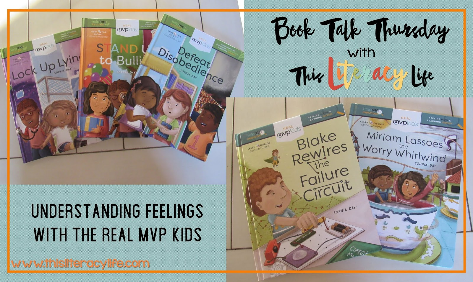 It's tough being a kid sometimes! Their feelings are all over the place sometimes. The Real MVP Kids have ways to help young children better understand their feelings in these new books.