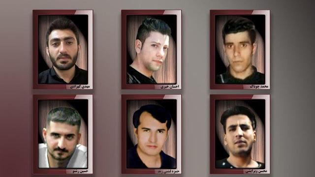 شهیدان راه آزادی در قیام سراسری شهر دورد دی ۹۶