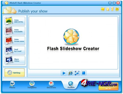 iPixSoft Flash Slideshow Creator Full 4.5.6.0 Latest Version