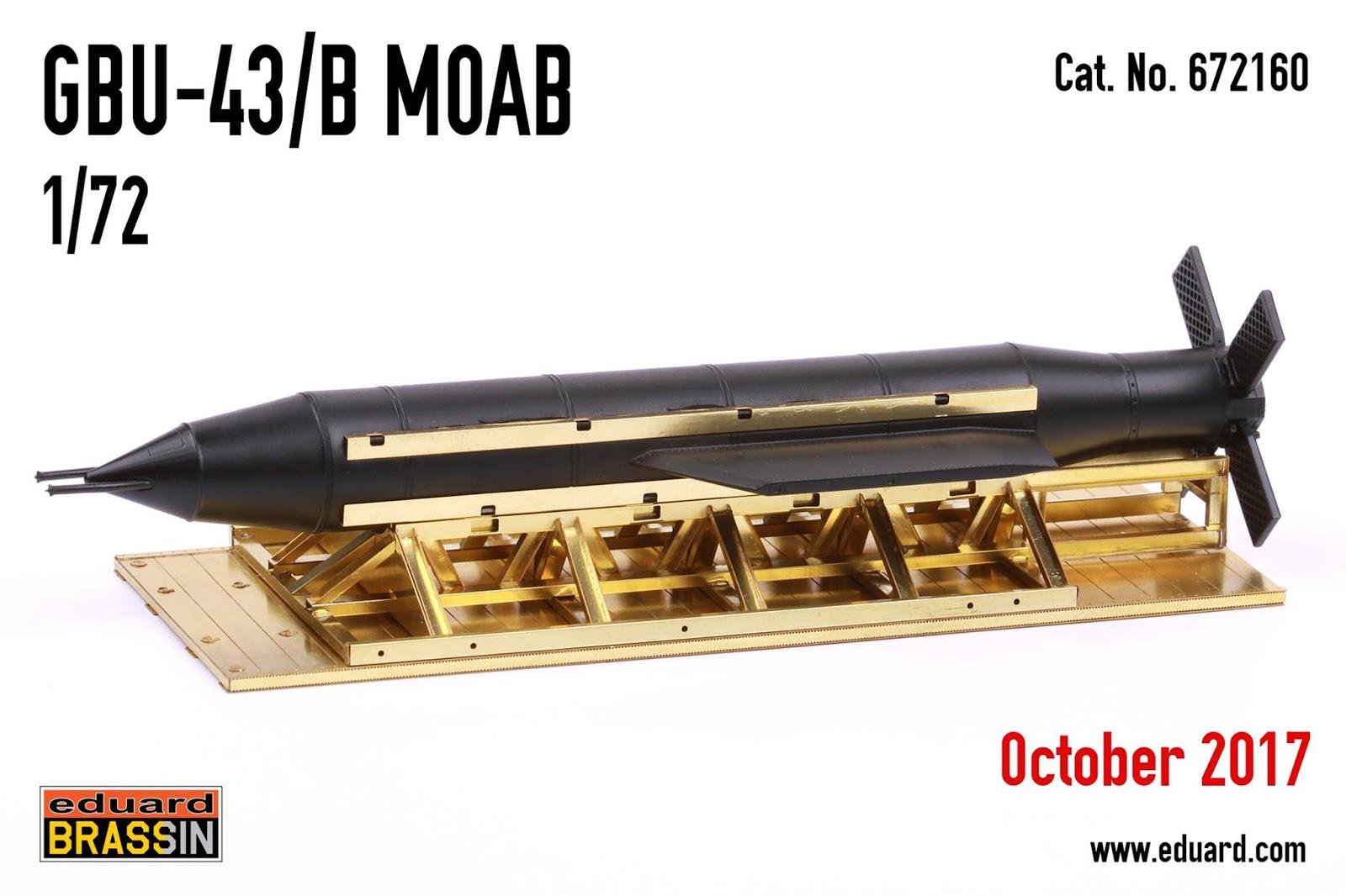 .:Eduard:. GBU-43/B MOAB for #october - 1_72_aircraft_news