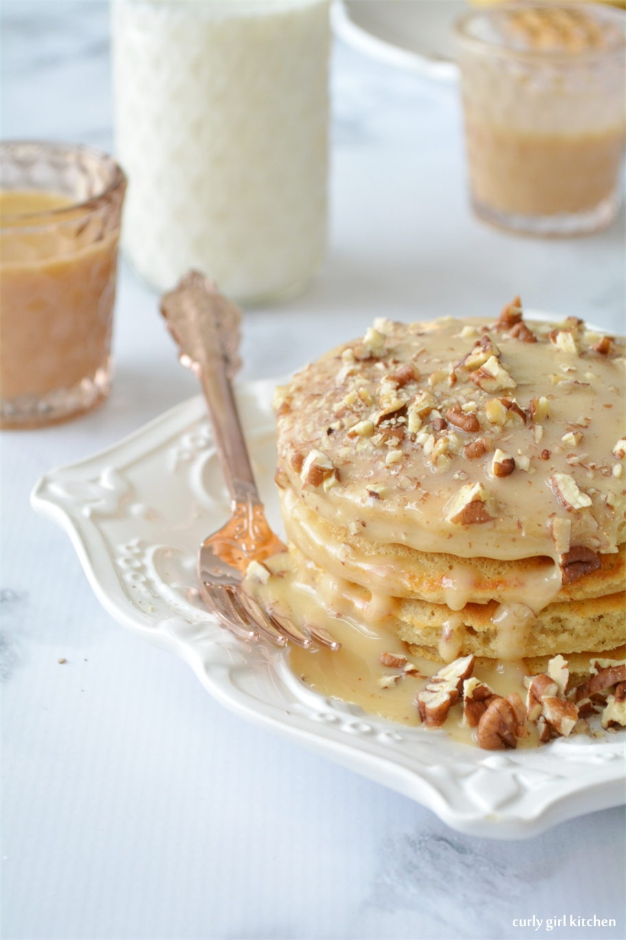 Curly Girl Kitchen: Brown Butter Pecan Pancakes with ...