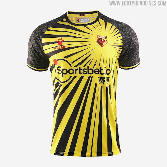 Kelme Watford 20-21 Home & Goalkeeper Kits Released Away & Third ...