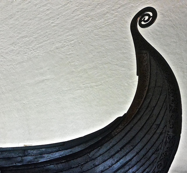 Oslo musée du bateau viking presque île de Bygdoy Vikingskipshuset