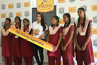 Actress Priya Anand in T Shirt with Students of Shiksha Movement Events 59.jpg