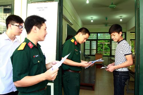 Điều kiện sức khỏe khi thi vào trường quân đội năm 2018
