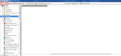 Cara Edit File DBF Untuk Pendataan BIOUN
