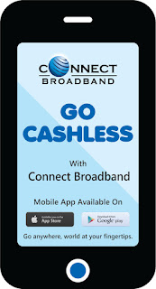 GO Cashless with Connect Broadband's Mobile App