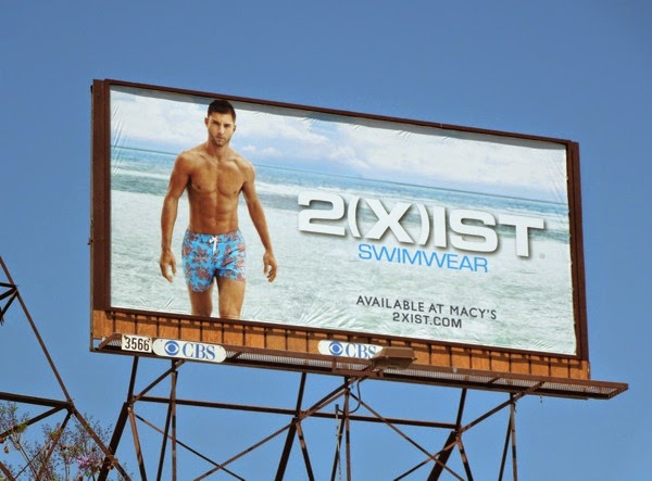 2(X)ist male swimwear Spring 2014 billboard