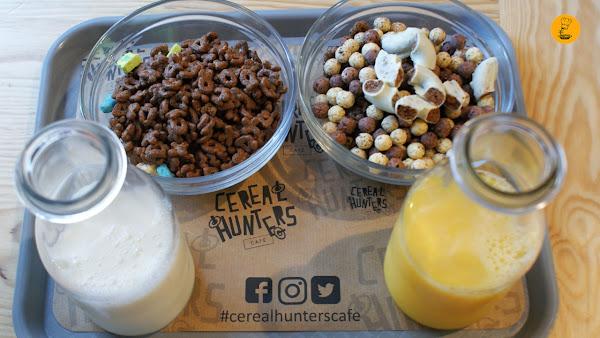 Tazones de cereales tamaño mediano  en Cereal Hunters Café Madrid