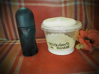 deodorante fatto in casa fai da te