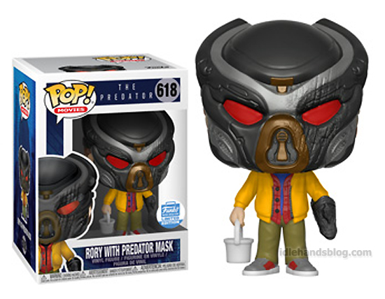 Funko Pop Vinyl Figures The Predator Rory Wearing Predator Mask Funko Shop Exclusive