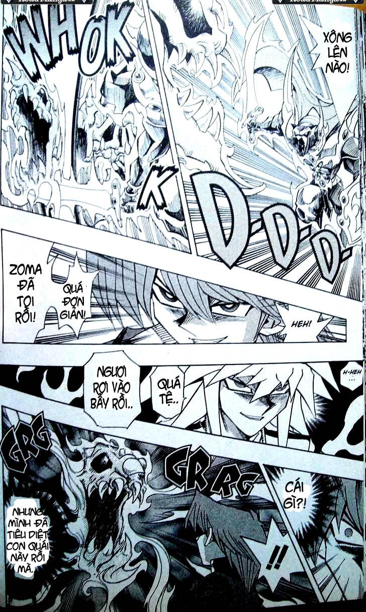 YUGI-OH! chap 307 - shadow fall!! trang 11