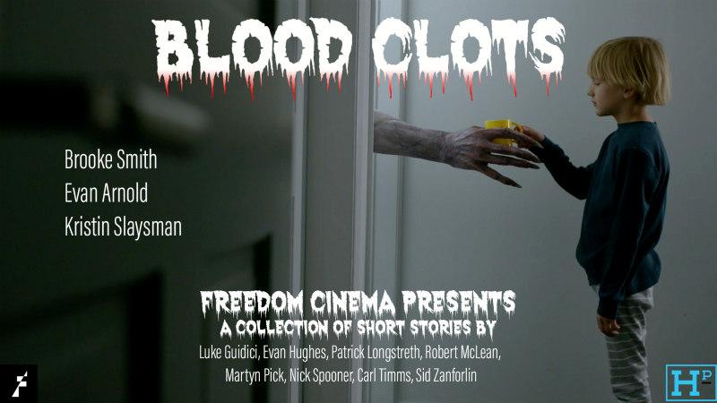 blood clots horror anthology poster
